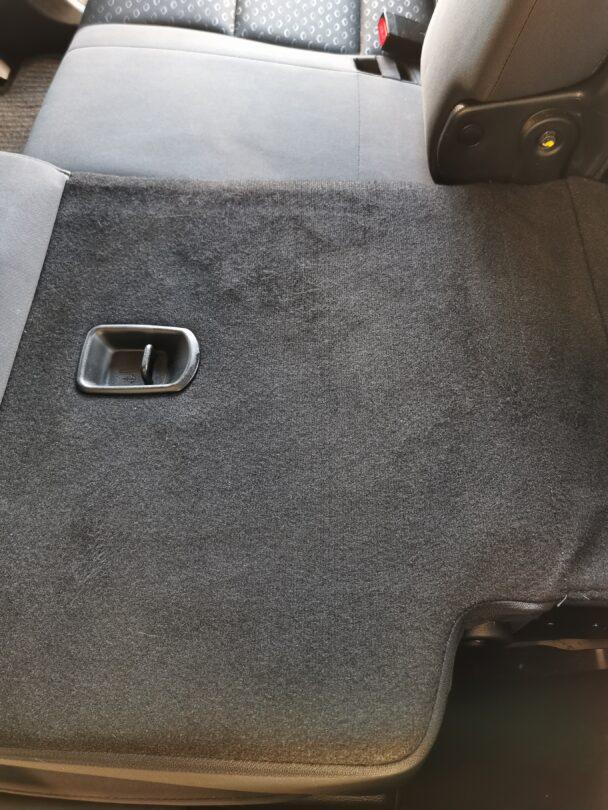 saubere Rückbank hinten nach Aufbereitung